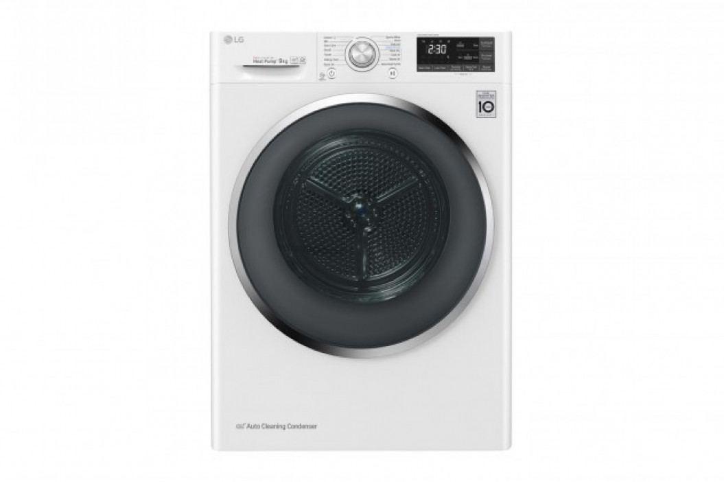 Sušička prádla LG RC81EU2AV3W, A+++, 8 kg, Hybridní sušení