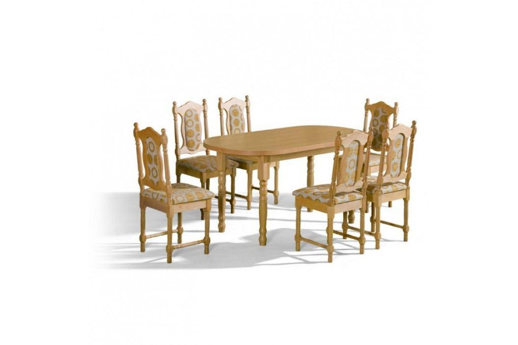 dodání 30 dní - Stůl ORION + židle SW (6ks.) - sestava MM28