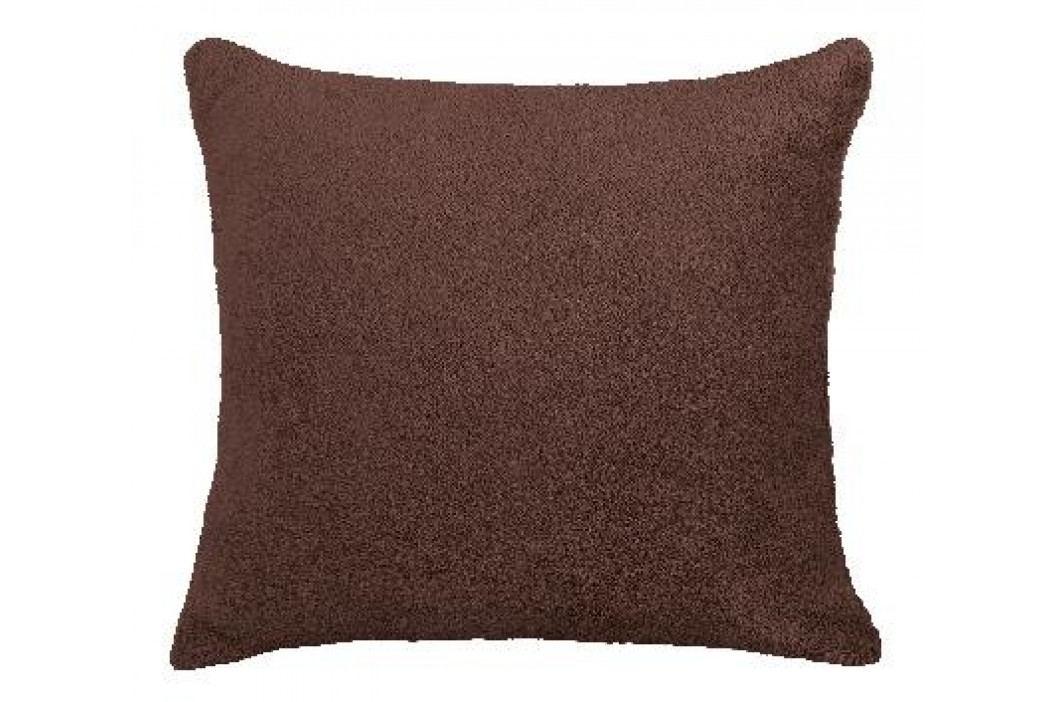 Bellatex polštář Mazlík 38x38 cm tmavě hnědá