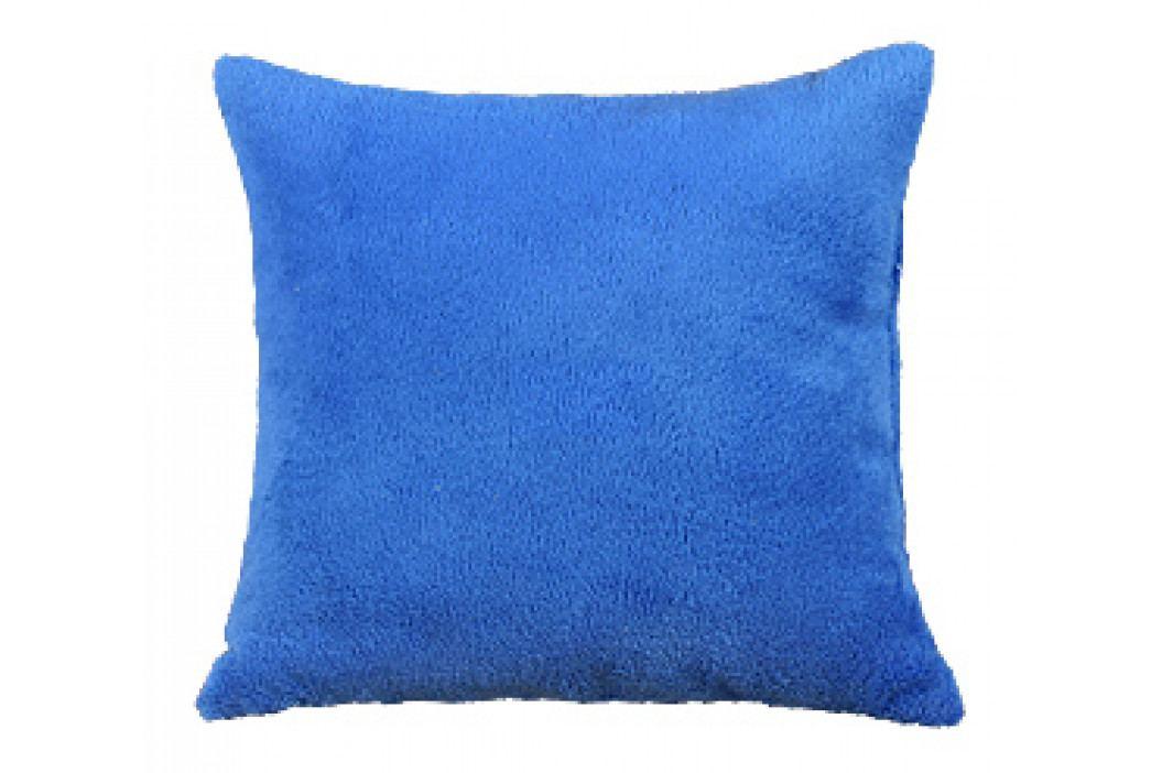 Bellatex polštář Mazlík 38x38 cm modrá