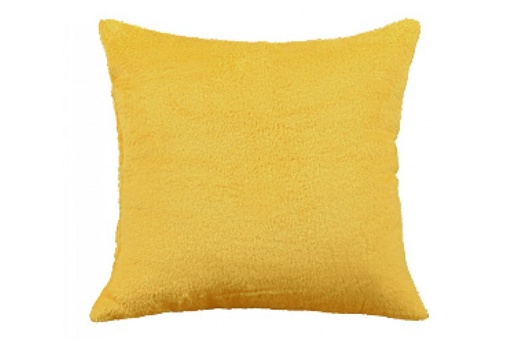 Bellatex polštář Mazlík 38x38 cm žlutá