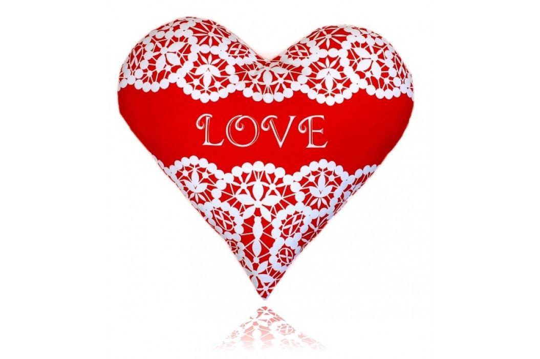Greno polštář Srdce Love 36x38 cm