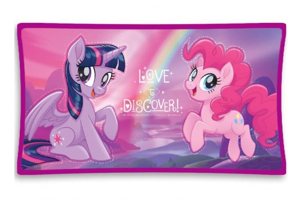 Polštářek mikroplyš My little Pony 4 25x45 cm
