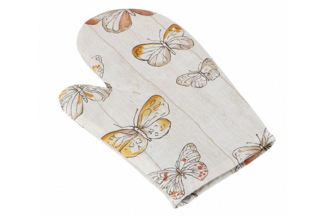 Bellatex kuchyňská chňapka motýlci na dřevě