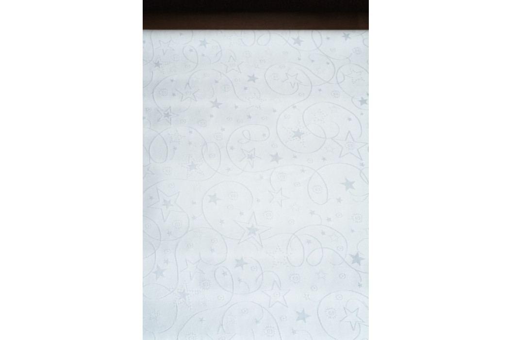 Polášek Ubrus vánoční bílý 100x130 cm