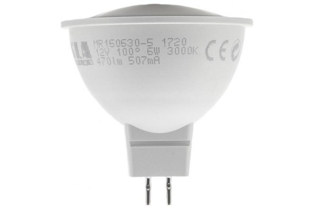 Tesla bodová, 6W, GU5.3, teplá bílá (MR160630-5)