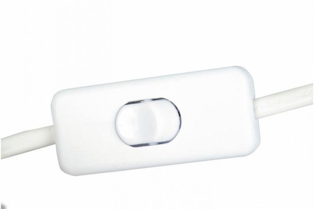 Vánoční dekorace - Klasický dřevěný svícen - 7 LED diod, teple bílé