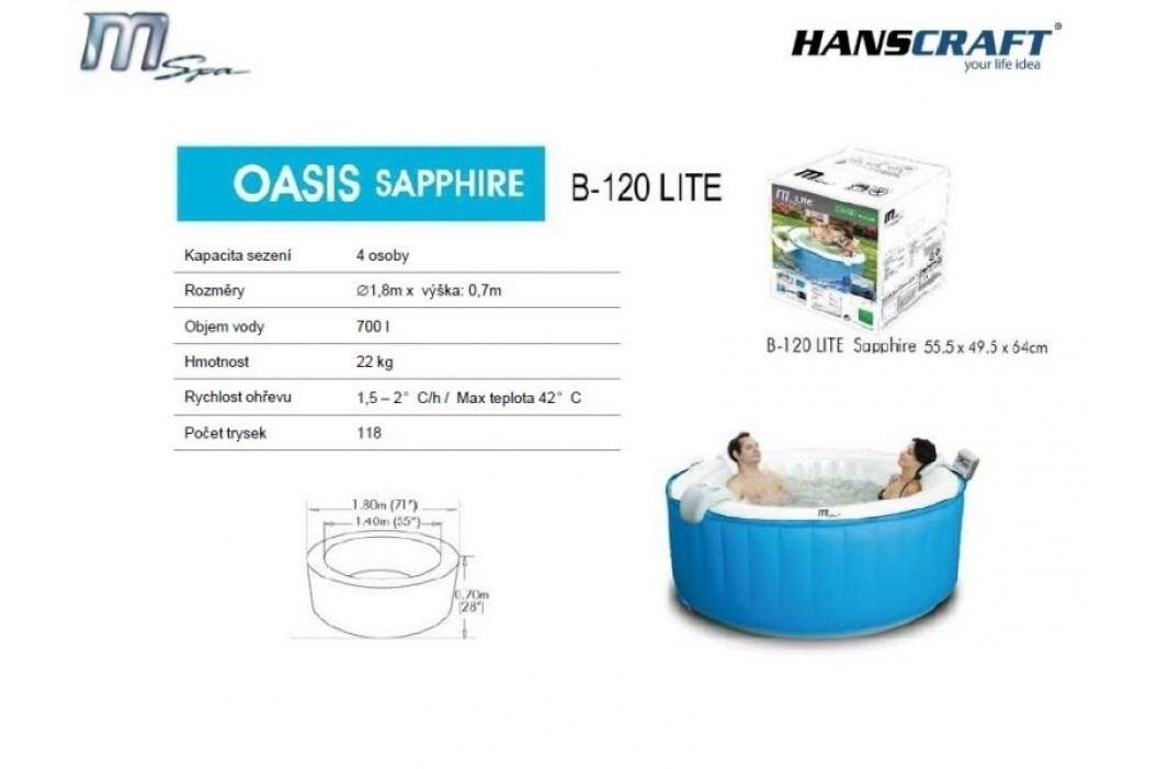 Hanscraft MSpa M-022LS Oasis Sapphire Lite