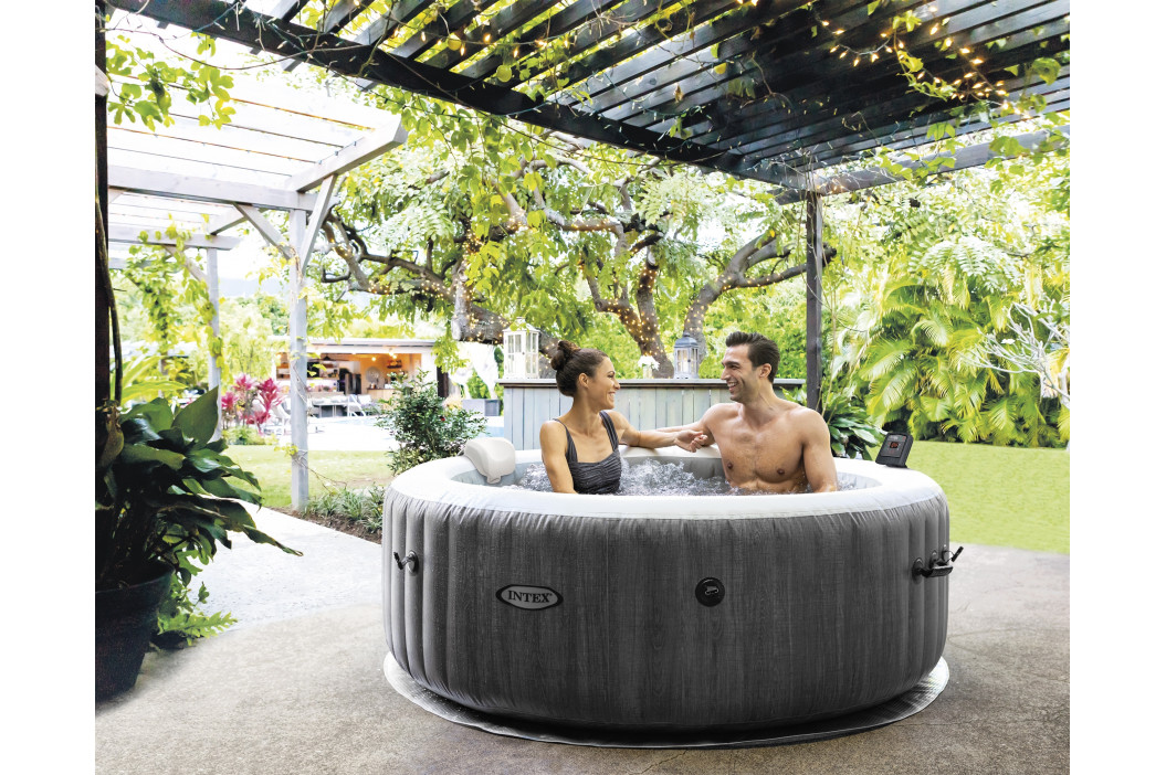 Marimex | Vířivý bazén Pure Spa - Bubble Greywood Deluxe | 11400244