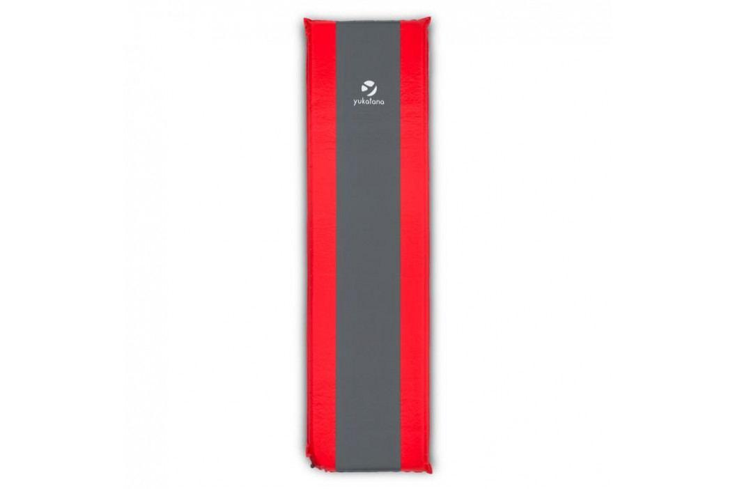Yukatana Gooddream 7, nafukovací matrace / karimatka, 7 cm, samonafukovací, červeno-šedá