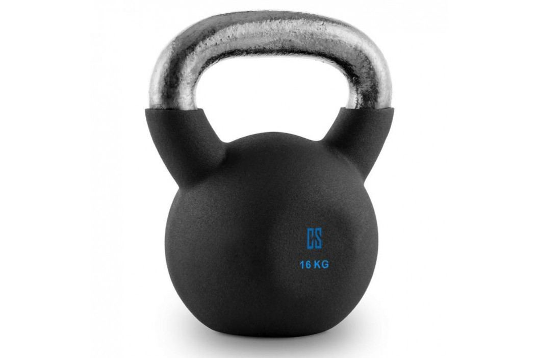 Capital Sports V-ket 16, činka kettlebell 16 kg, kulové závaží