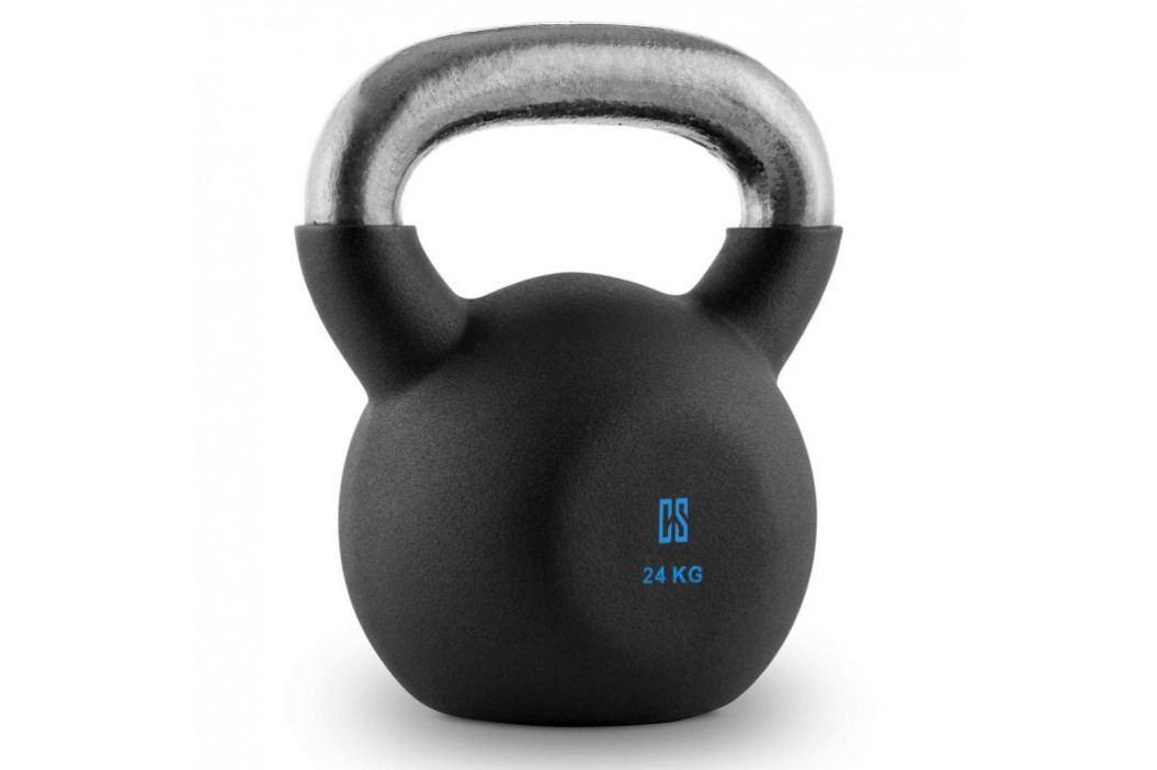 Capital Sports V-ket 24, činka kettlebell 24 kg, kulové závaží