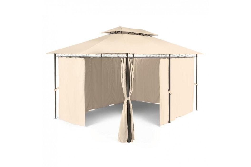 Blumfeldt Grandezza, zahradní pavilon, párty stan, 3 x 4 m, ocel, polyester, béžový