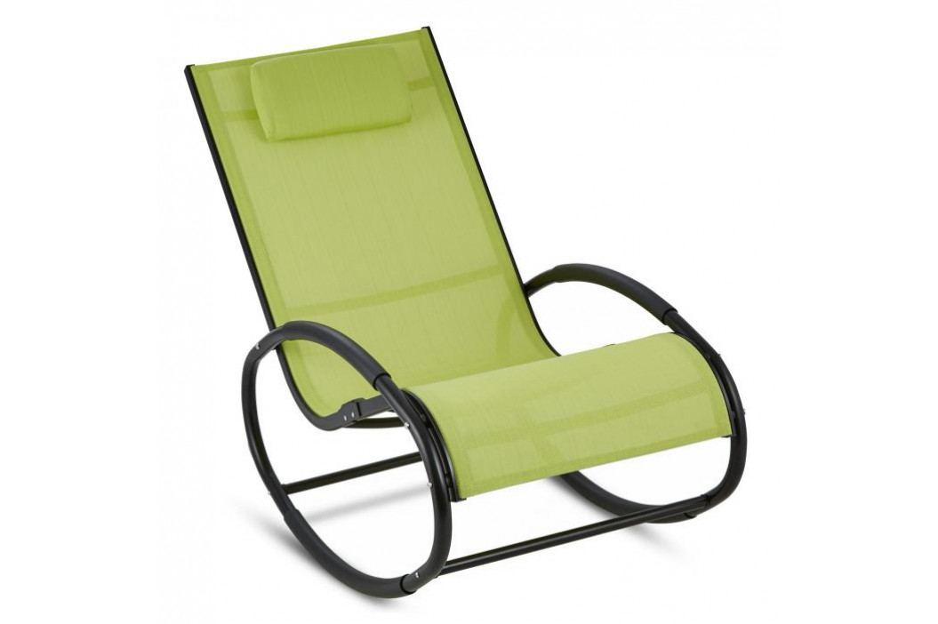 Blumfeldt Retiro, houpací křeslo, hliník, polyester, zelené