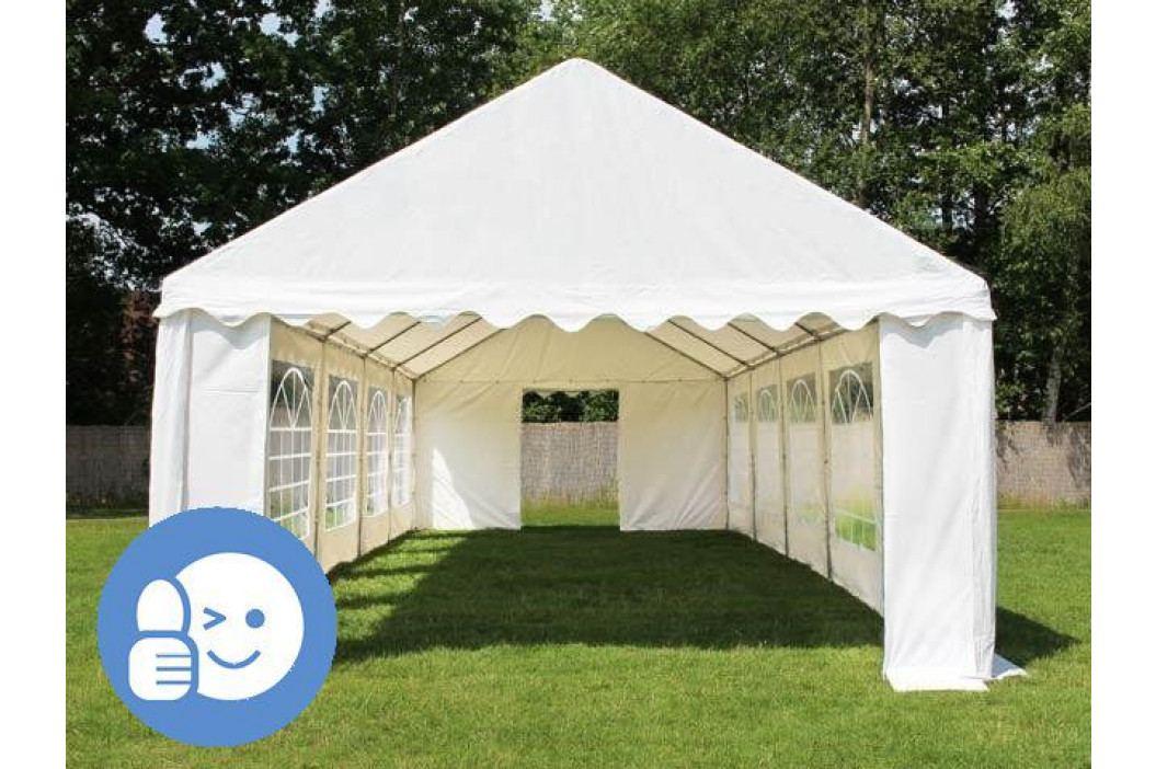 Tradgard ECONOMY 41532 Zahradní párty stan 6 x 12 m - bílá