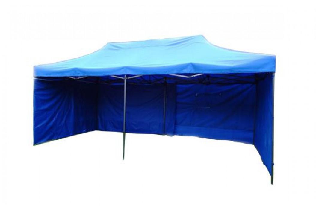 Tradgard 41519 Zahradní párty stan DELUXE nůžkový + boční stěny - 3 x 6 m modrá