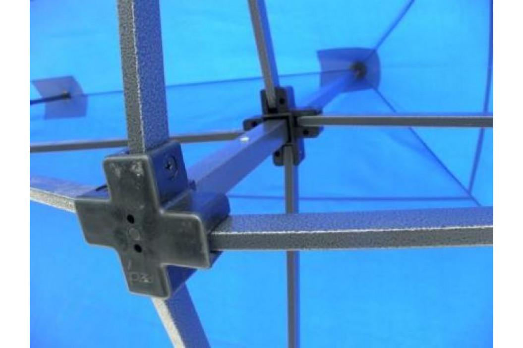Tradgard DELUXE 41514 Zahradní párty stan  nůžkový + boční stěna - 3 x 6 m modrá obrázek inspirace