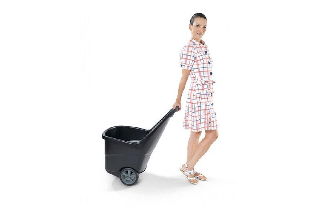 Keter 41494 Zahradní plastový vozík XL - EASY GO 62L černý