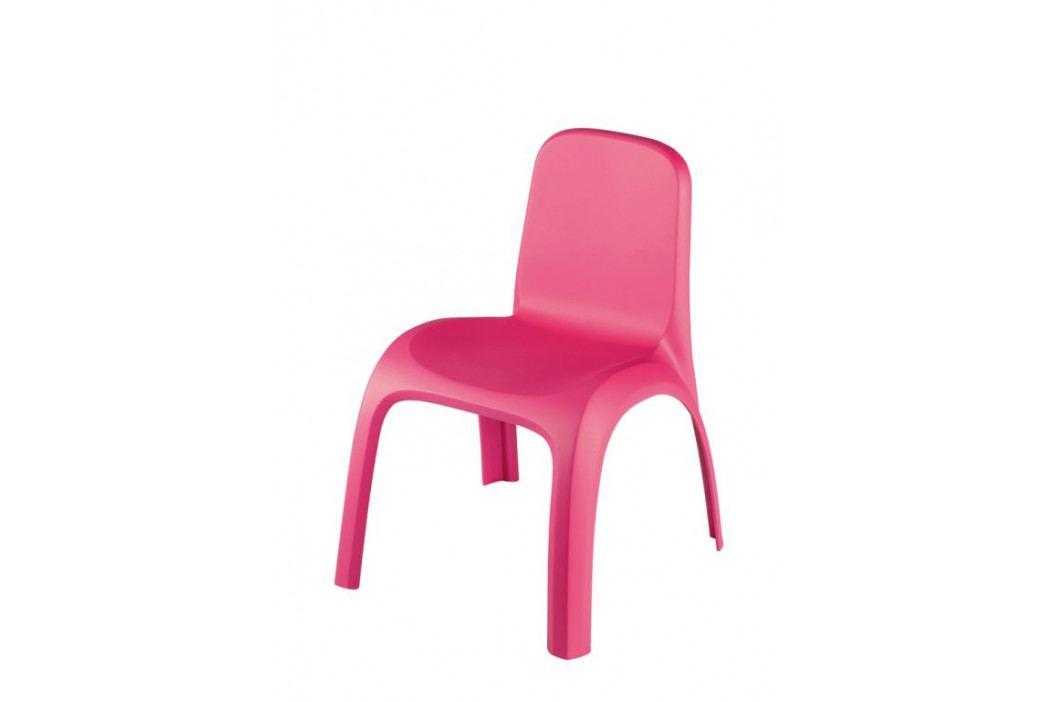 Keter 41467 Dětské plastové křeslo KIDS CHAIR- růžové