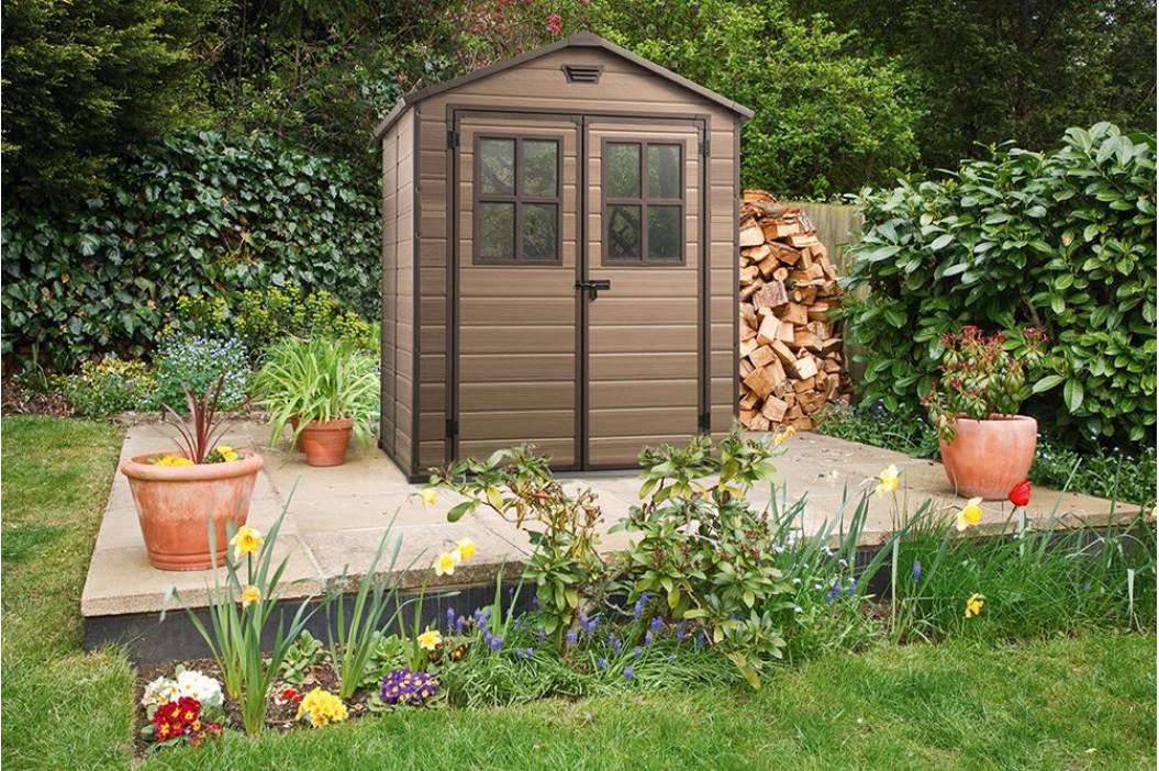 Keter 41445 Zahradní plastový domek SCALA 226 x 185 x 152 cm