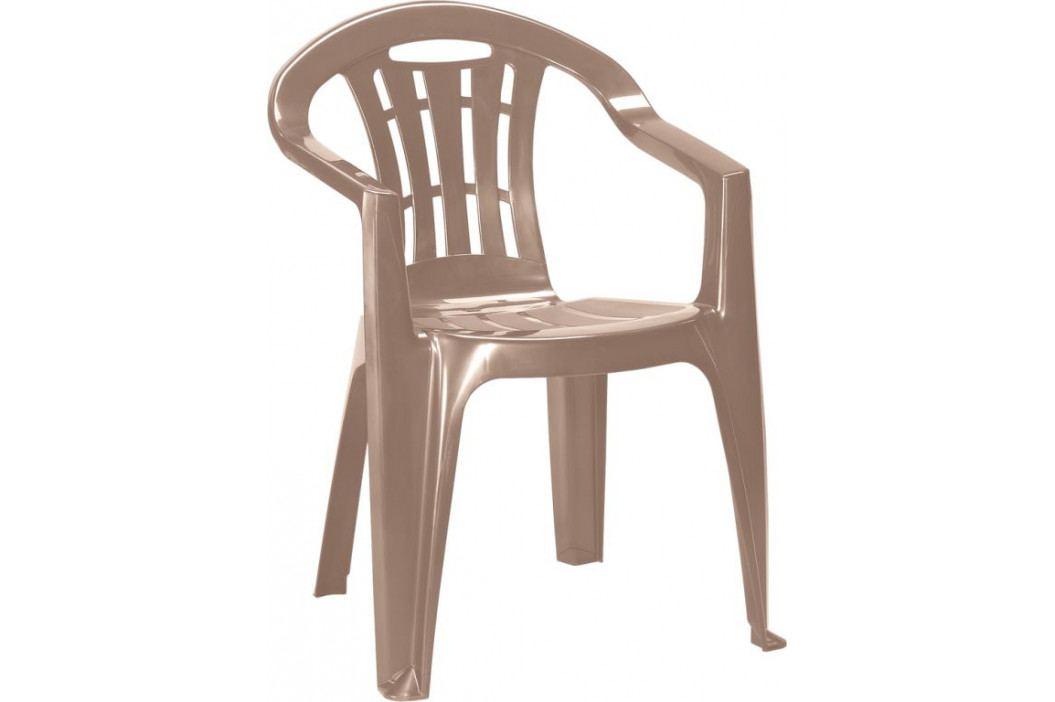 Allibert MALLORCA 41394 Zahradní židle - cappuchino