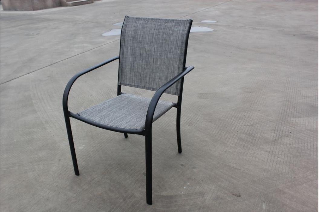 Tradgard 41363 Zahradní kovové křeslo šedé