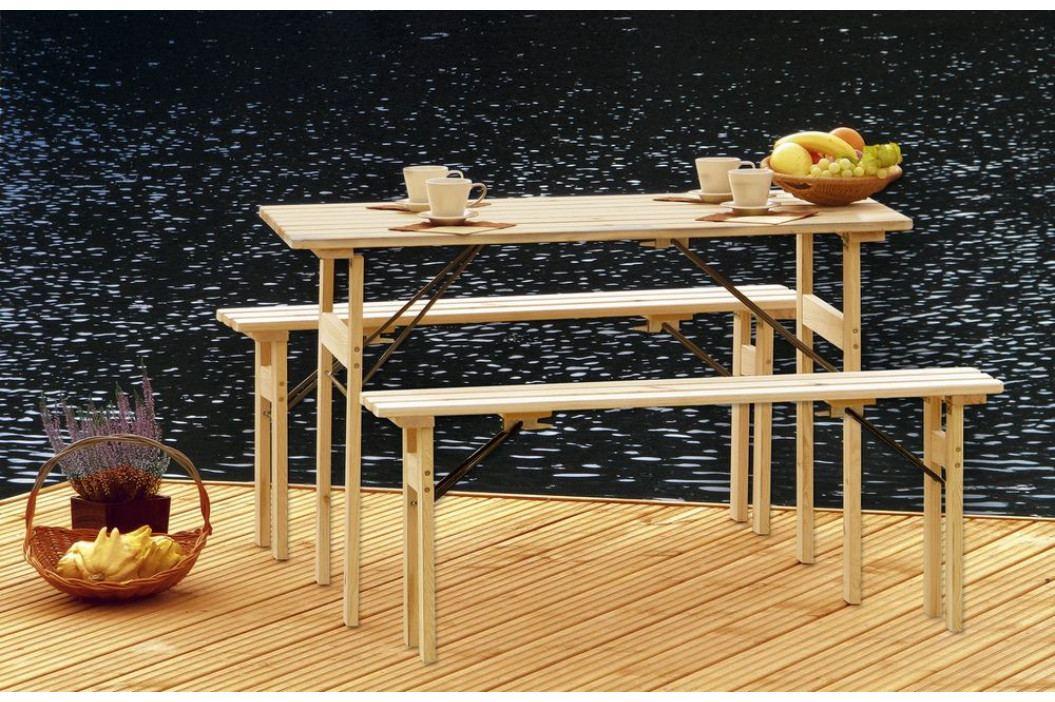 Tradgard 41322 Zahradní dřevěný set