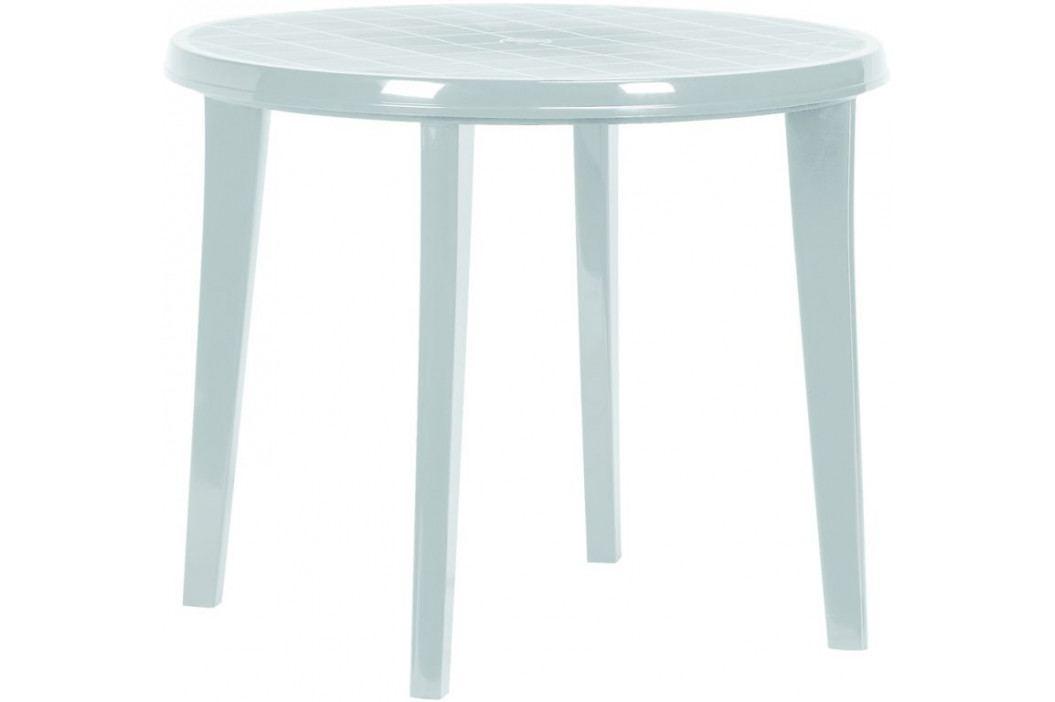 CURVER 41310 Zahradní plastový stůl LISA - světle šedá