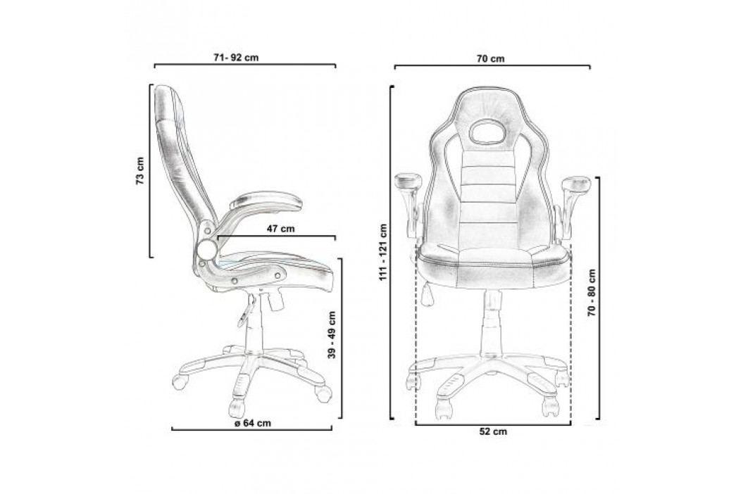 Otočná kancelářská židle GT Series One Imola