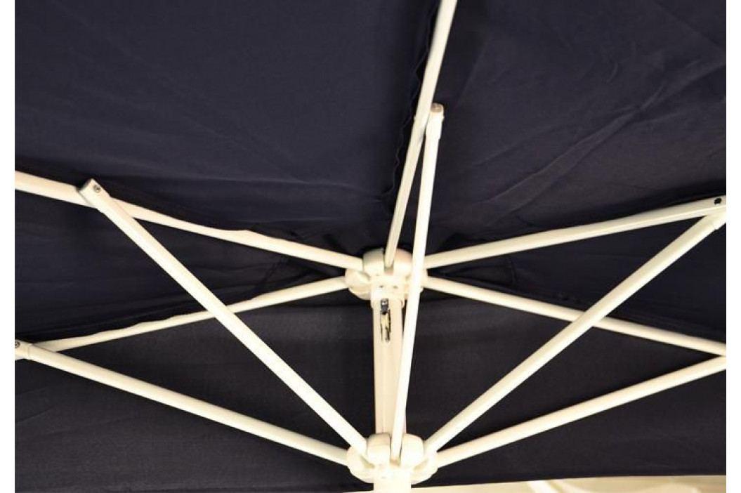 Garthen 29879 Půlkruhový zahradní slunečník terakota vč. příslušenství