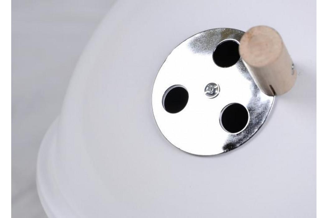 Garthen 691 Zahradní mini gril kulatý bílý
