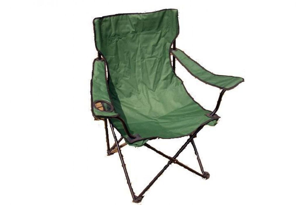 Garthen 2658 Kempinková skládací židle s držákem nápojů