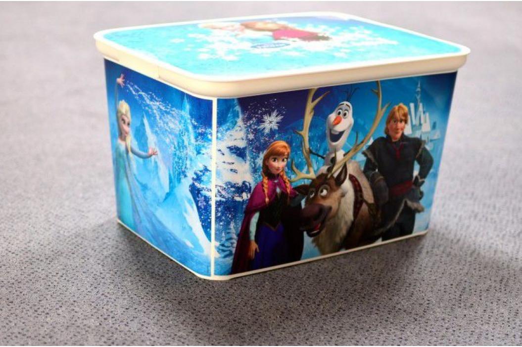 CURVER 33036 Dětský úložný box - Ledové království - L