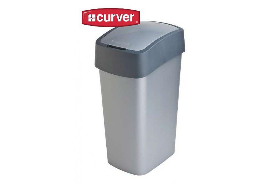 CURVER FLIPBIN 31357 Odpadkový koš 50l - šedý