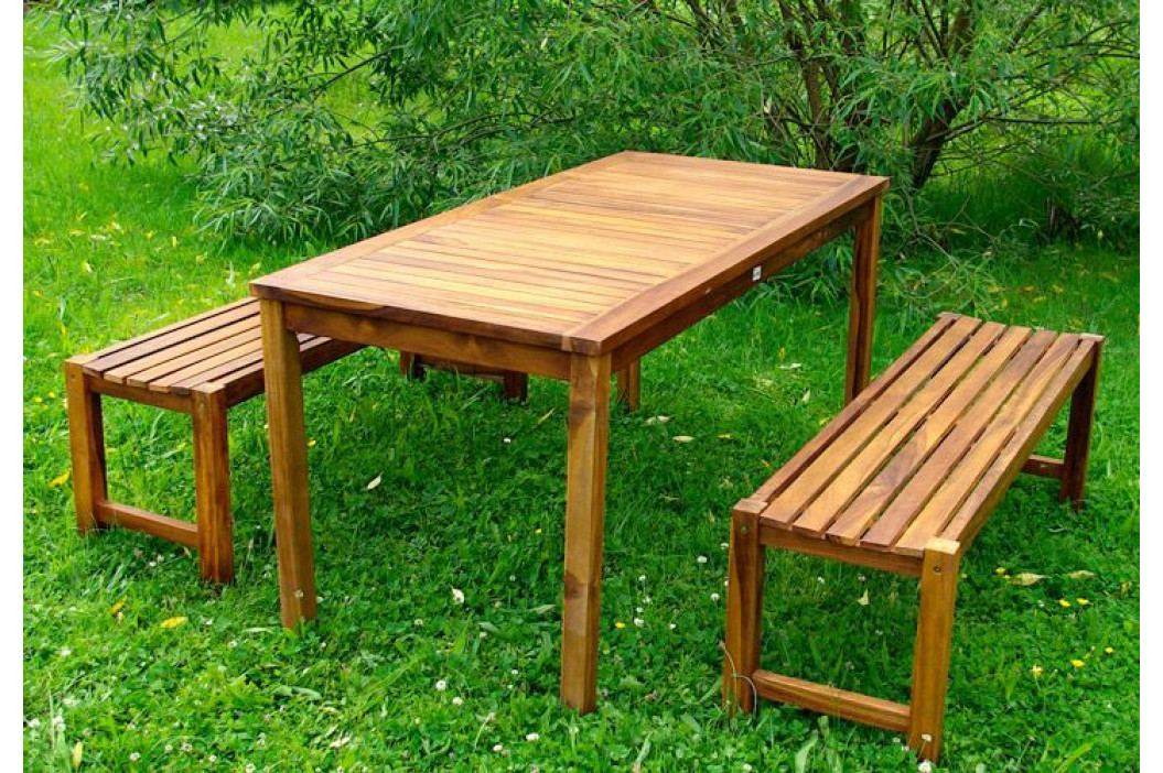 Divero 962 Zahradní set z akátového dřeva