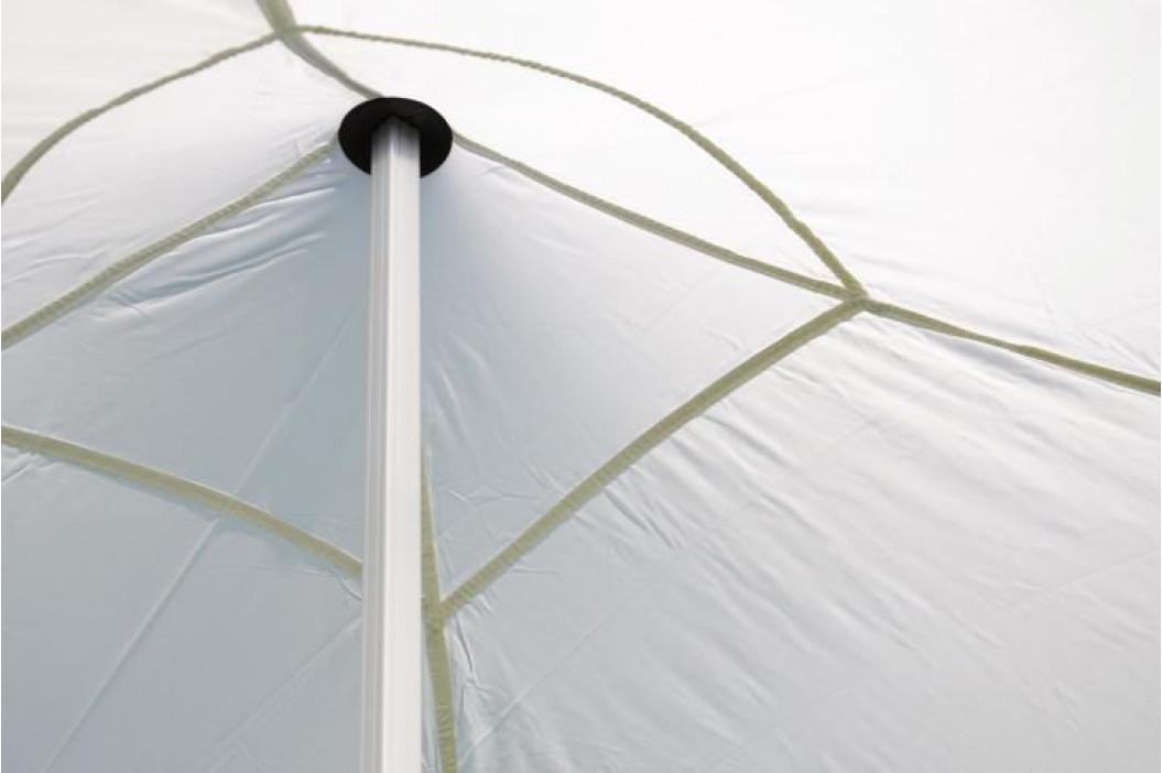 Garthen PROFI 383 Zahradní párty stan nůžkový 3x3 m bílý + 2 boční stěny