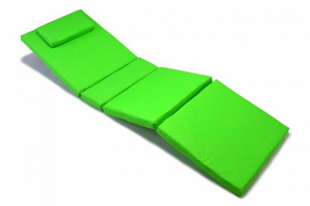 Divero 320 Polstrování na lehátko - světle zelená