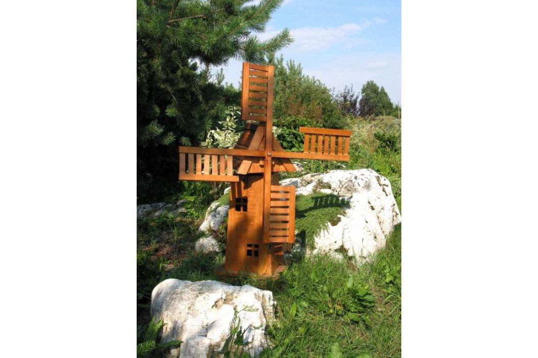 Tradgard 7030 Dřevěný větrný mlýn zahradní dekorace