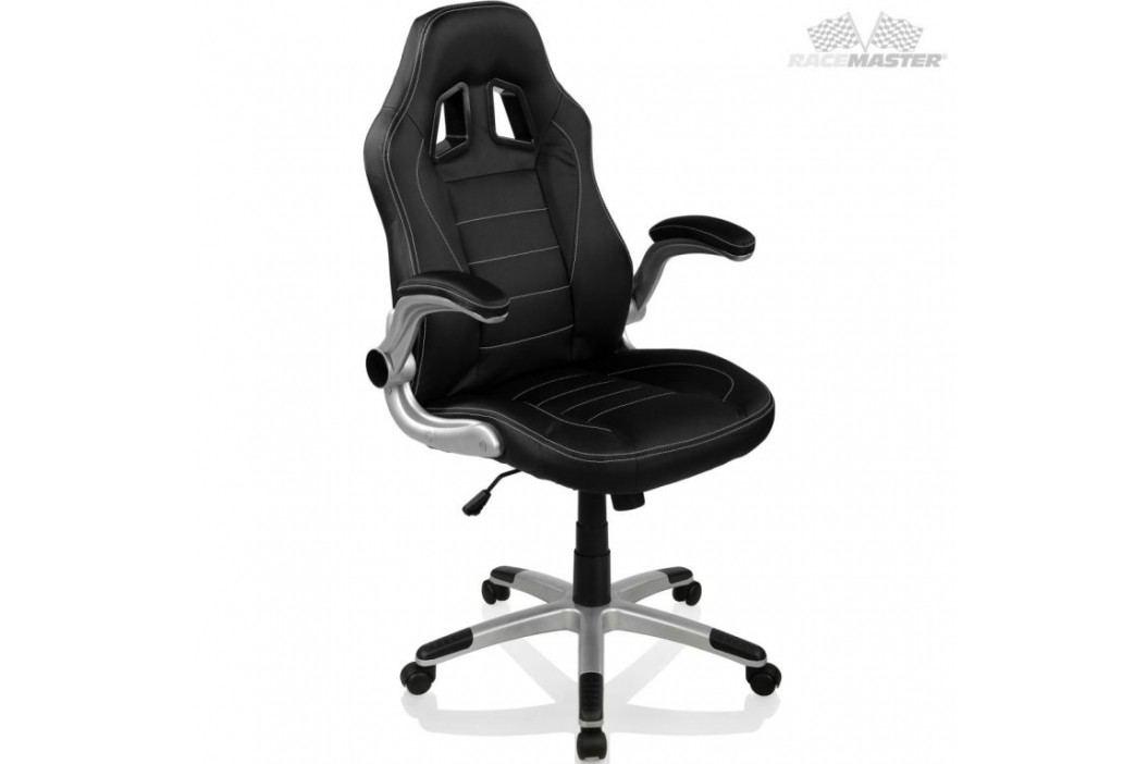 Otočná kancelářská židle GT Series One- černá/černá/černá