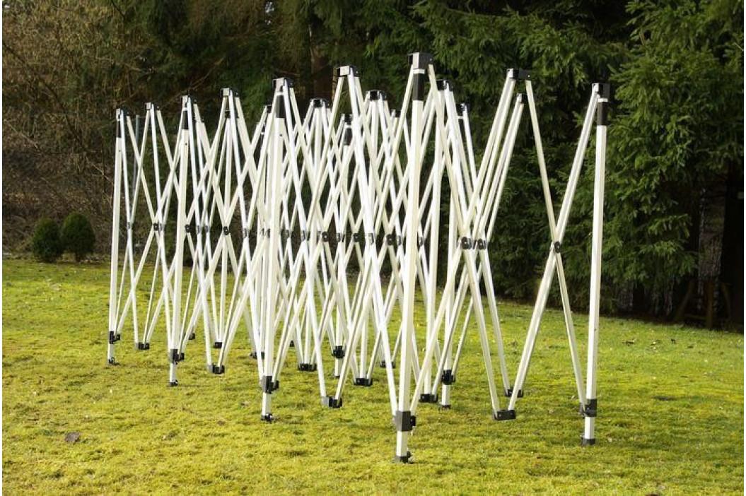 Garthen PROFI 1998 Zahradní skládací párty stan - černá 3 x 9 m