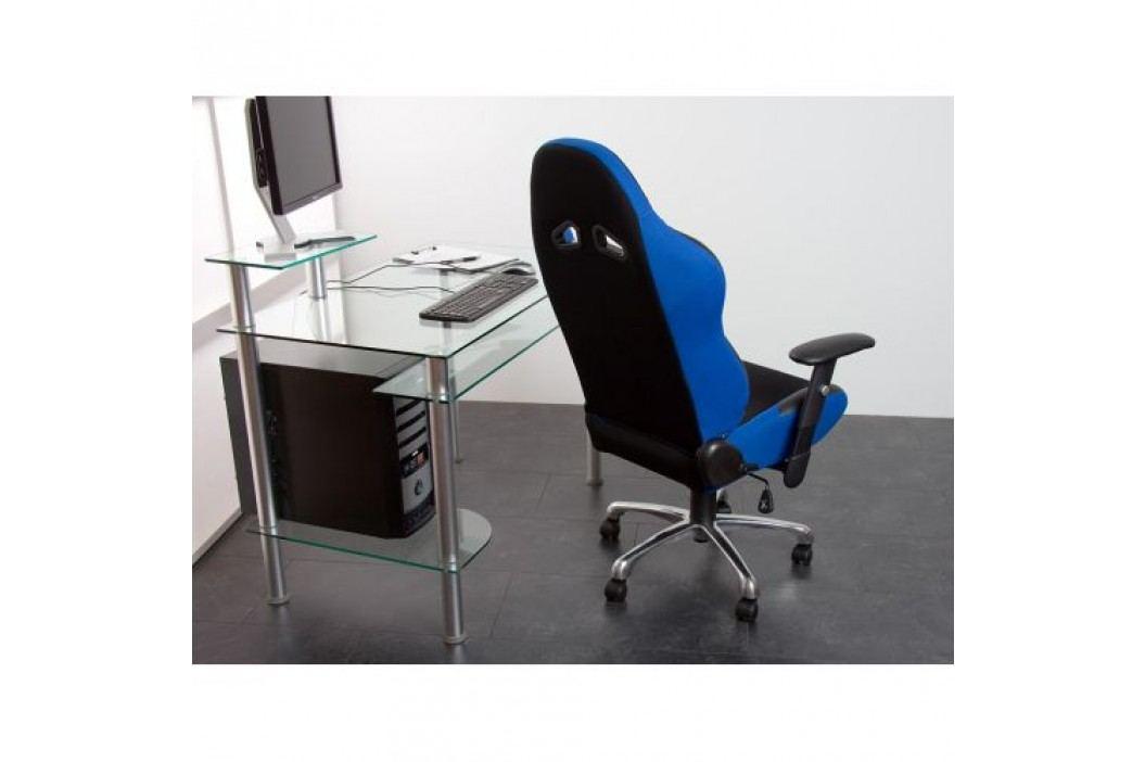 Kancelářská židle sportovní design - modrá / černá RS Series