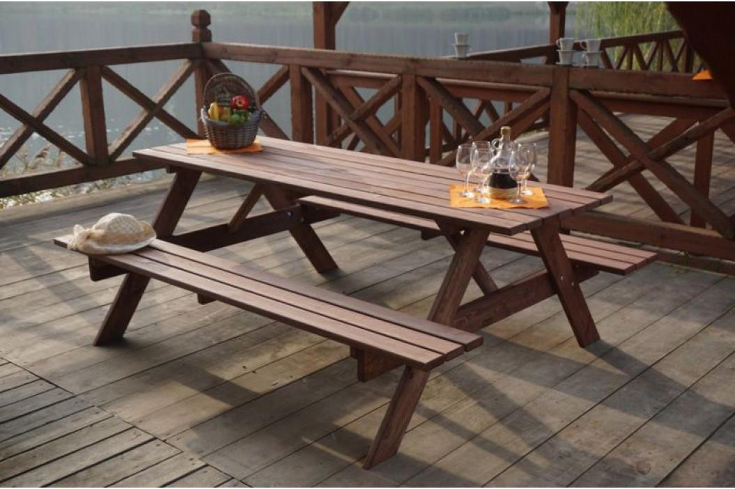 Tradgard 35268 Dřevěný PIKNIK set - 180CM