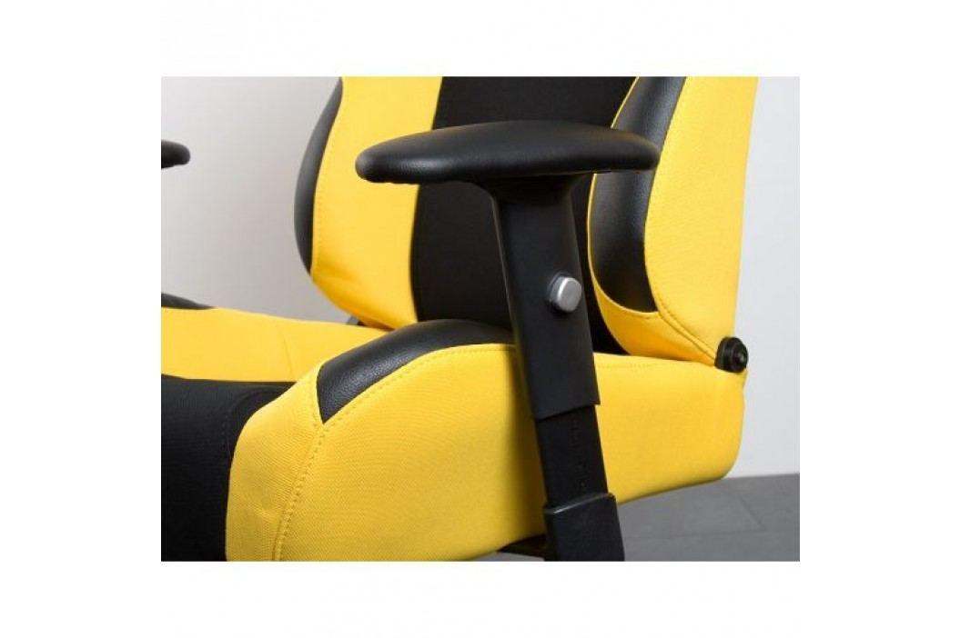 Kancelářská židle žluto-černá RS Series