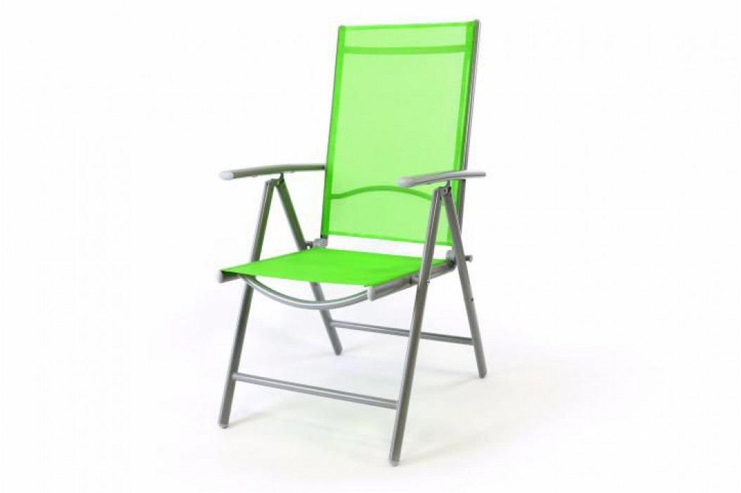 Garthen Gardenay 1505 Hliníková skládací židle - zelená