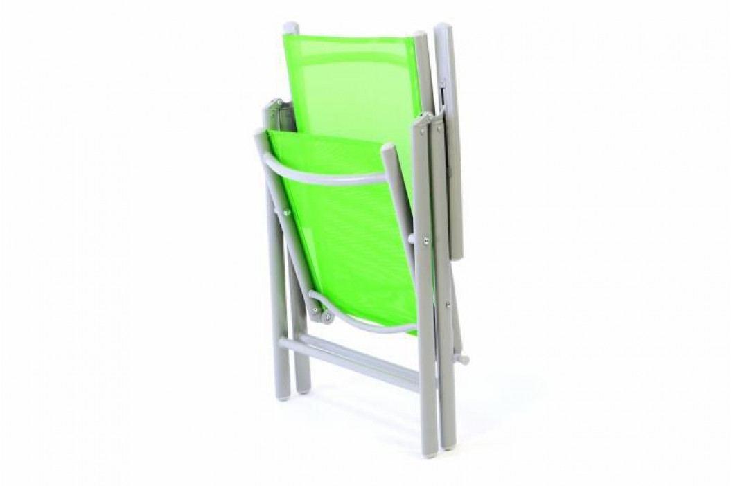 Garthen 1505 Hliníková skládací židle Gardenay - zelená
