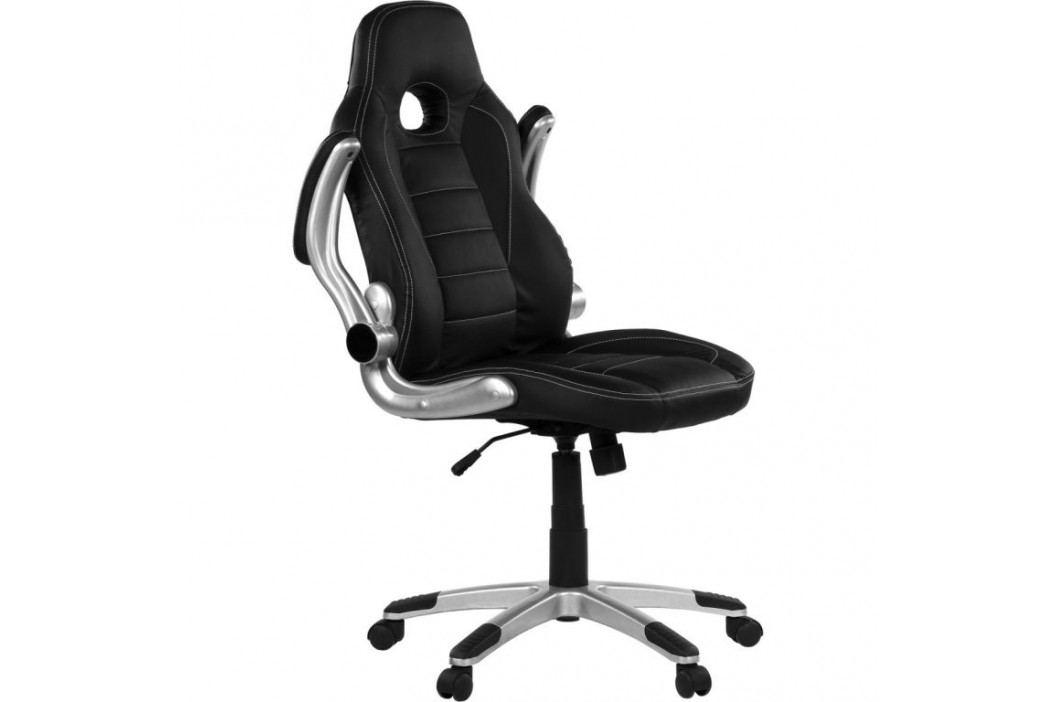 RACEMASTER® 38739 Kancelářská židle GT Series One černá / černá
