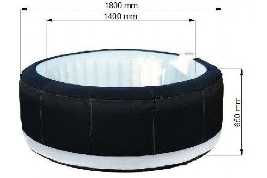Tradgard 38608 Mobilní vířivka Belatrix SPA LUXURY 130 - 1,8 m