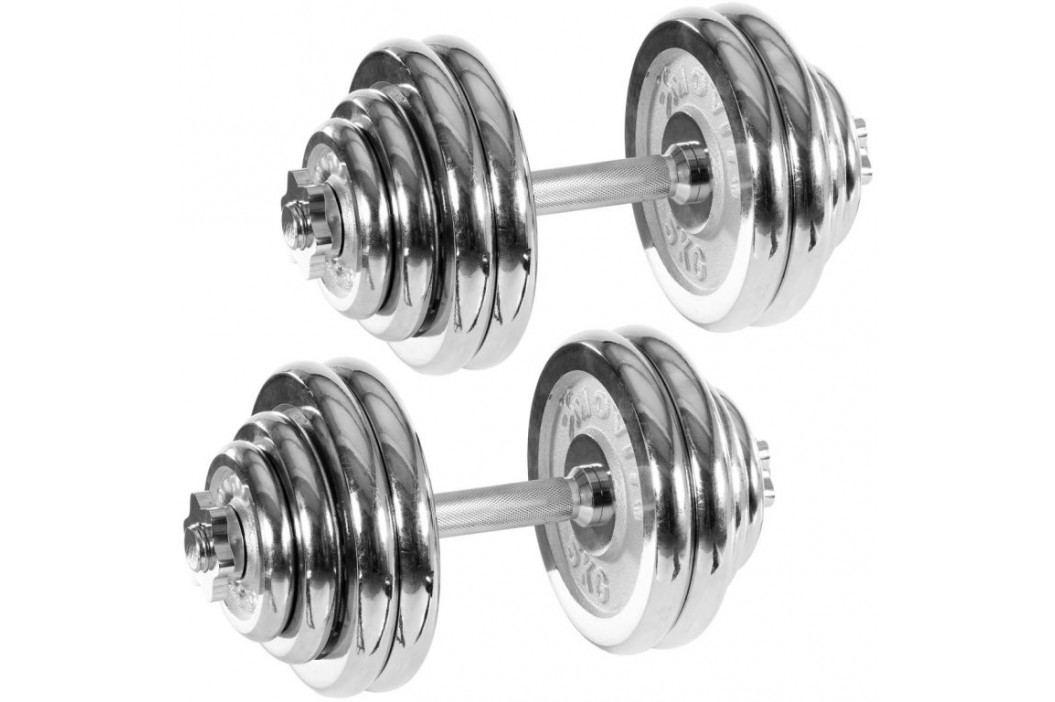 MOVIT 32893 Set jednoručních chronovaných činek 30 kg