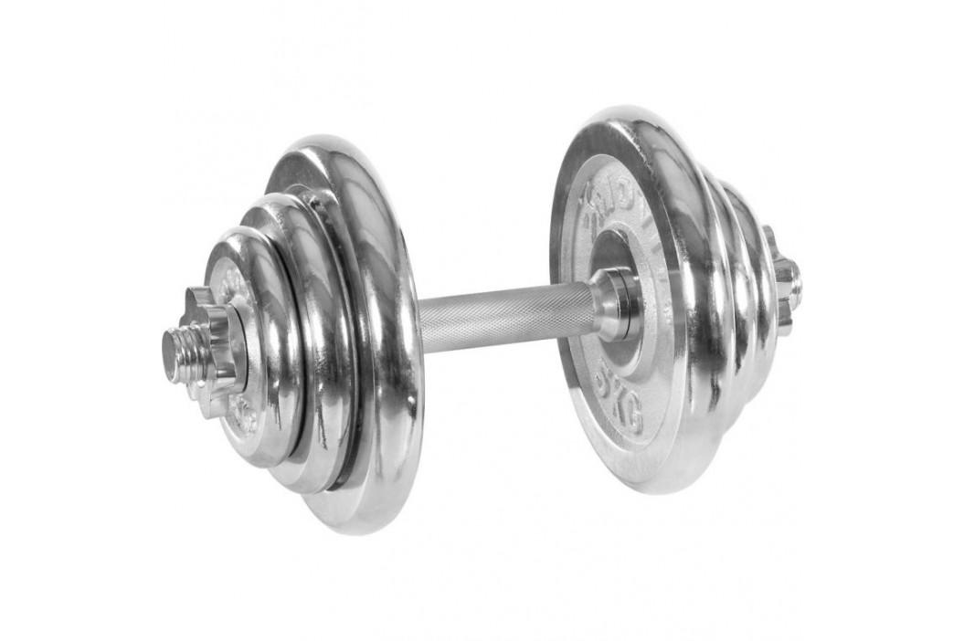 Movit Jednoruční činka chrom 20 kg