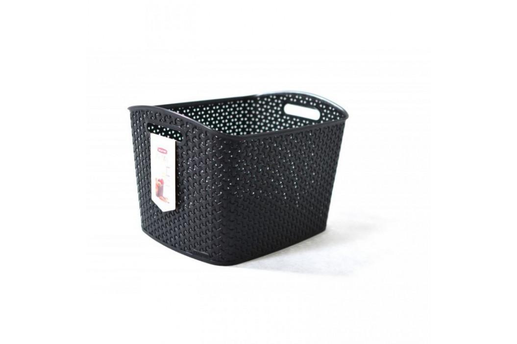 CURVER STYLE box 32268 Polyratanový košík - XL- černý